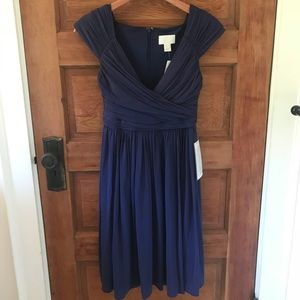 NWT blue j crew dress